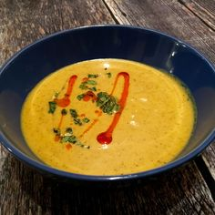 Roasted Cauliflower Soup with Turmeric and Coconut Milk