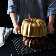 """The Unlikely Origins of the Most Iconic """"American"""" Cake Pan"""