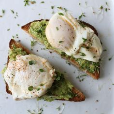 Coconut Poached Eggs & Avocado Toast