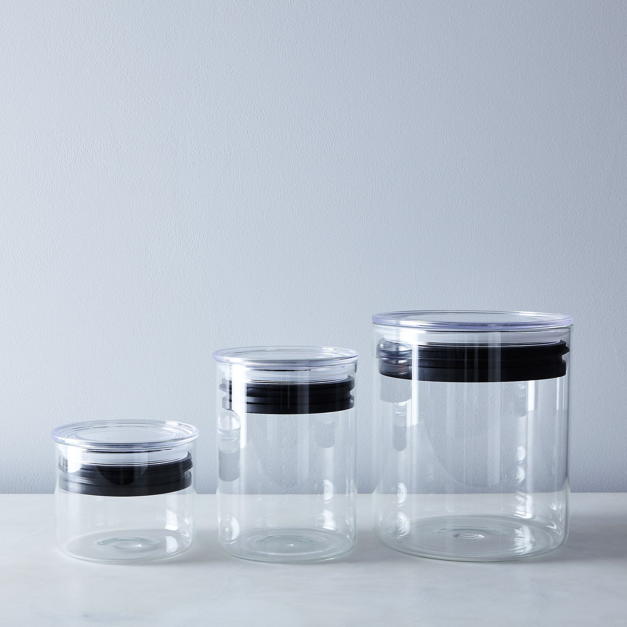 Glass Airtight Food Storage Containers On Food - Kitchen storage boxes