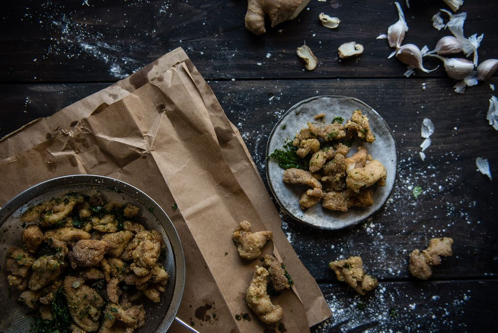 how to make popcorn chicken asian