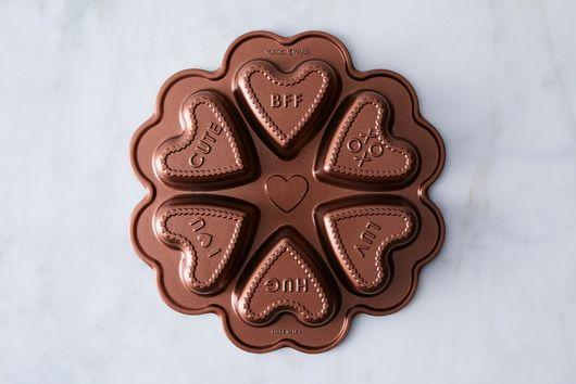 Nordic Ware Conversation Hearts Cakelets Pan
