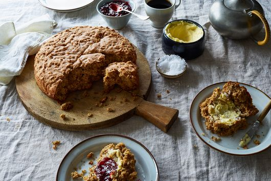 Oaty Brown Sugar Soda Bread