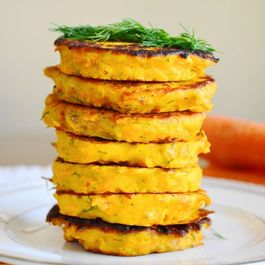 Carrot Ginger Pancakes