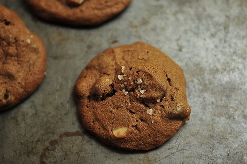 Salted Double Chocolate Peanut Butter Cookies on Food52