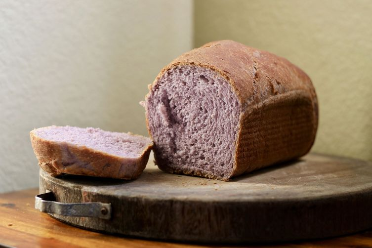 The Purple Sticky Rice Loaf