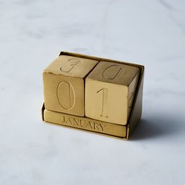 Brass Perpetual Calendar