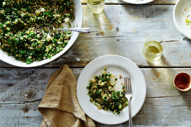 7810625d 2e18 4f9b a507 92de89232347  2015 1015 genius crispy brown rice salad kabbouleh with kale james ransom 217 50 of Our Most Popular, Brightest Salads