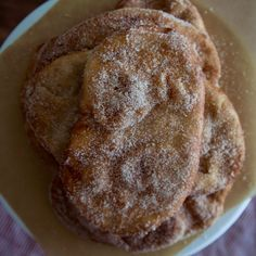 Fried Dough with Cinnamon-Sugar