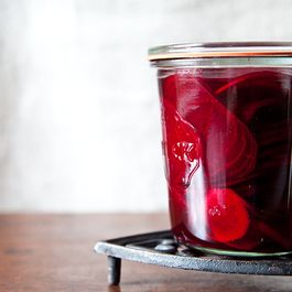 Gingered Beet Pickles