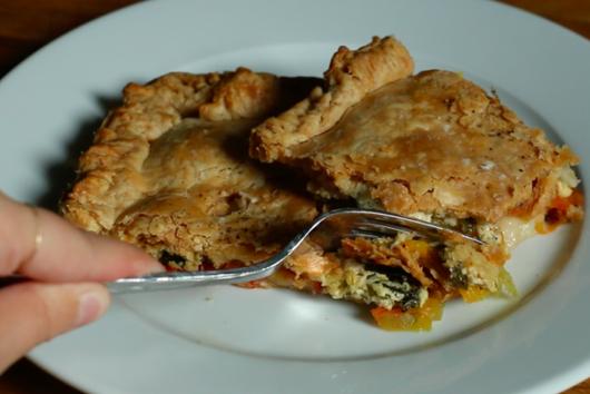 Summer Slab Pie