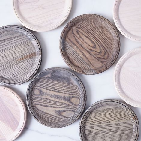 Crafted Wooden Plates
