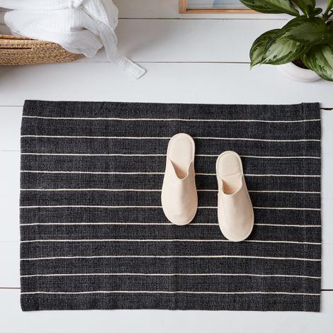 Handwoven Ethiopian Cotton Bath Mat
