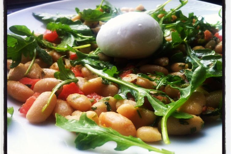 Warm Cannellini Bean Salad with Colatura Alici
