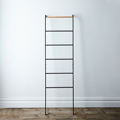 Steel & Wood Leaning Ladder
