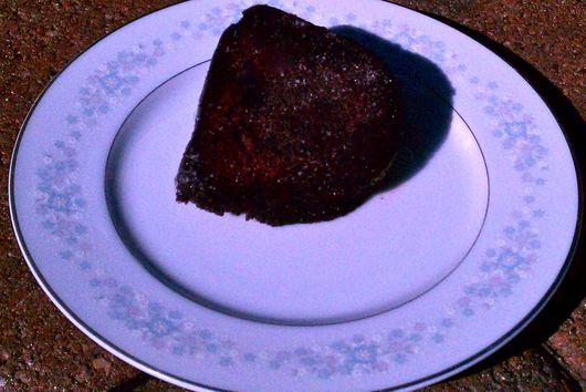 Healthy-ish Chocolate Snack Cake