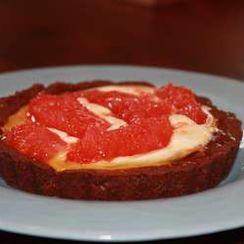 Caramel grapefruit tarts