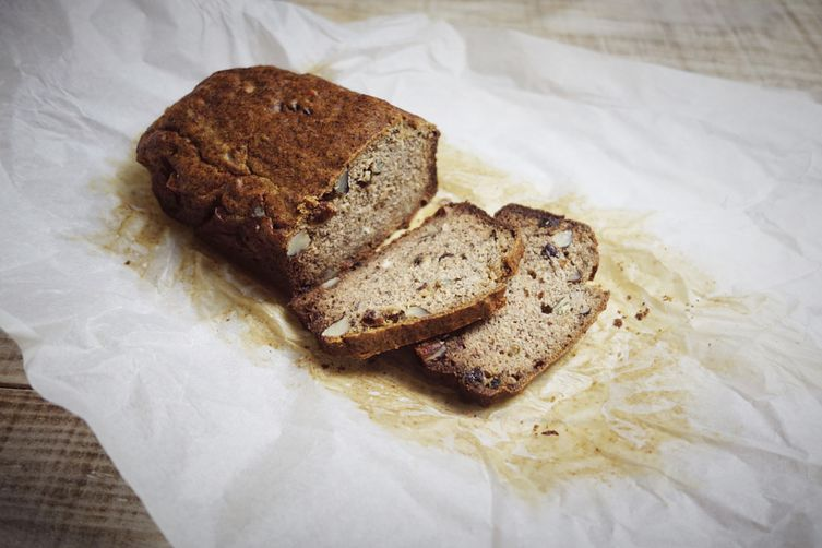 Banana bread (gluten, sugar and lactose free)