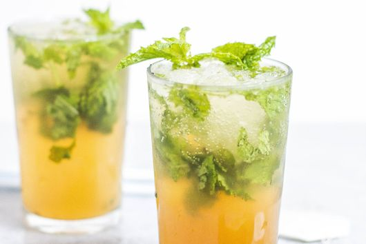 Nettle Tea Mojitos (Alcohol-free Mocktails)