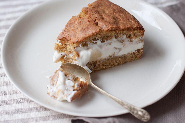 Amalfi Pear and Ricotta Cake