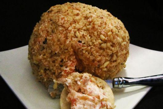 Walnut-Lychee Cheese Ball