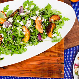 grilled stonefruit salad