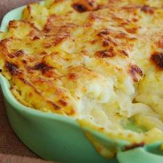 Orange Cauliflower Mac n' Cheese