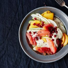 5a987bc3 a2f9 4976 ad36 d5548aecfd20  2016 0111 fruit salad with tahini coconut dressing bobbi lin 15543