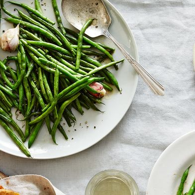 Michel Richard's Glazed and Glistening Haricots Verts