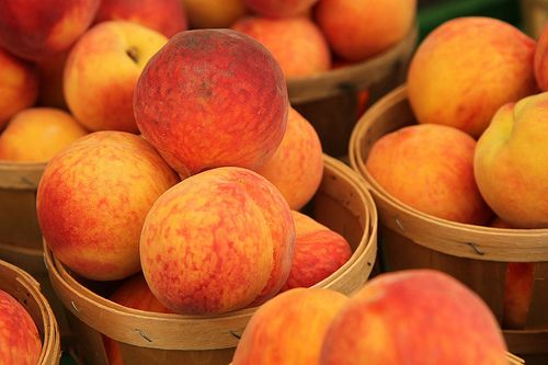 Hammonton's peaches