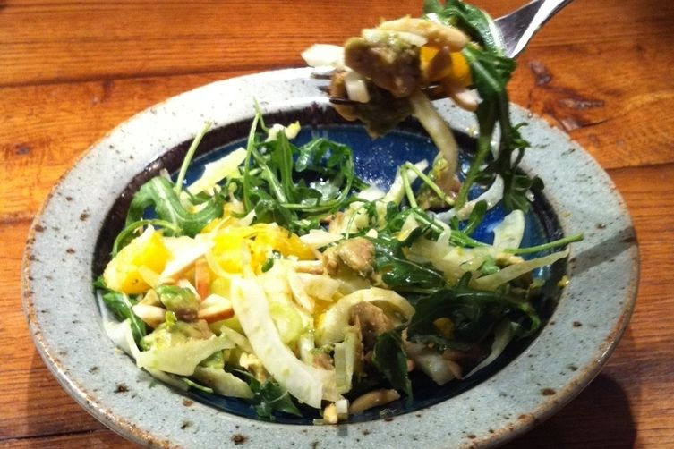 Arugula Salad With Orange, Fennel, and Other Good Things