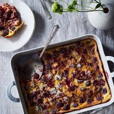 David Lebovitz's Cherry Clafoutis