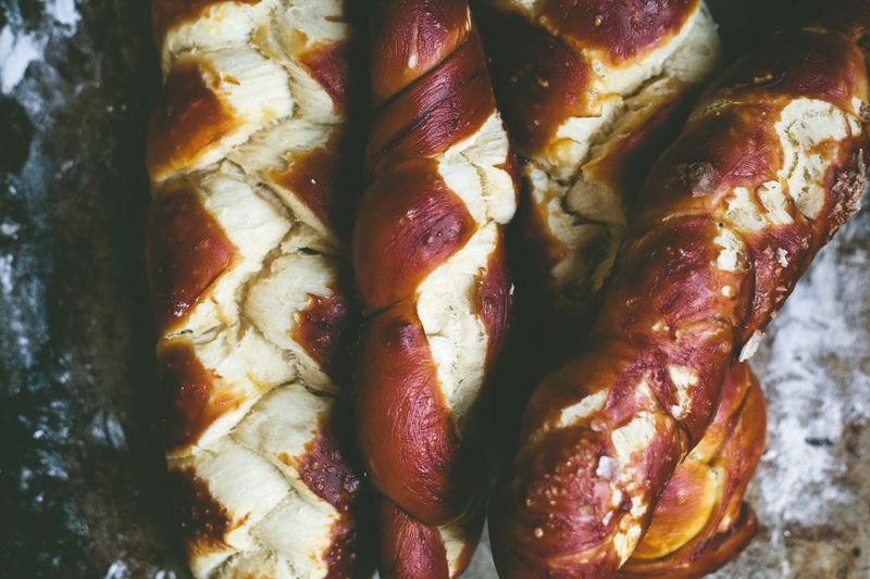 Homemade Pretzel Challah Recipe