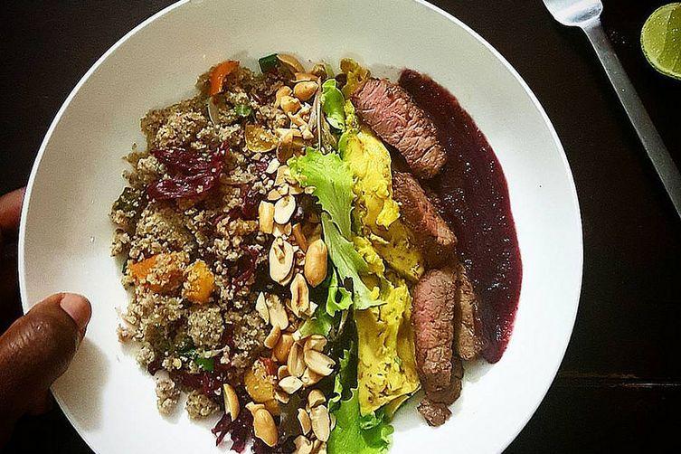 Warm Fonio Salad
