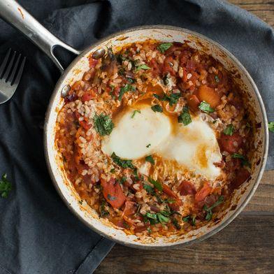 Chipotle Tomato Egg Skillet