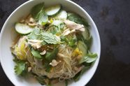 Summer Vegetable and Glass Noodle Salad