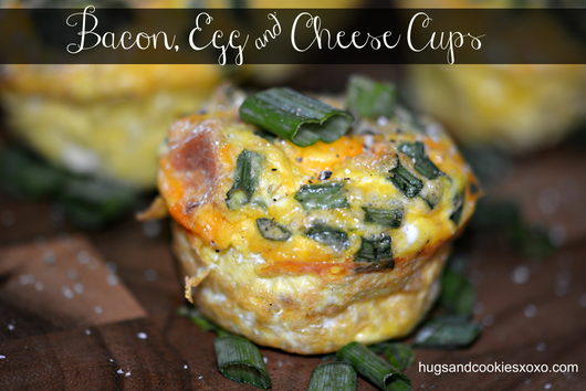 Bacon, Egg & Cheese Cups