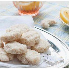 Raw Lemon Macaroons