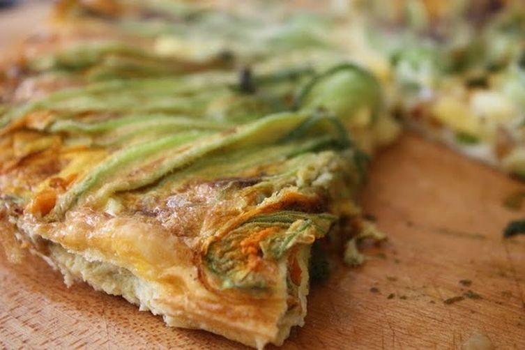 Squash Blossom Frittata Recipe on Food52