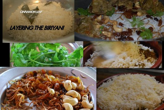 LAYERED CHICKEN BIRYANI