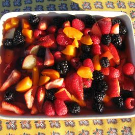 Macerated Summer Fruit Shortcakes with a Dividend