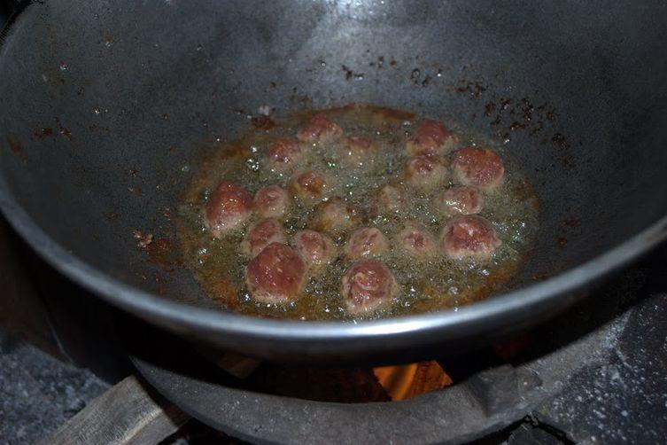 KERALA BEEF MEATBALLS
