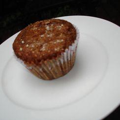 Chocolate-Curry Buckwheat Muffins