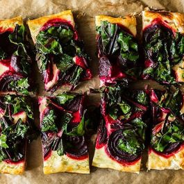 Savory tarts by Ginger Smith