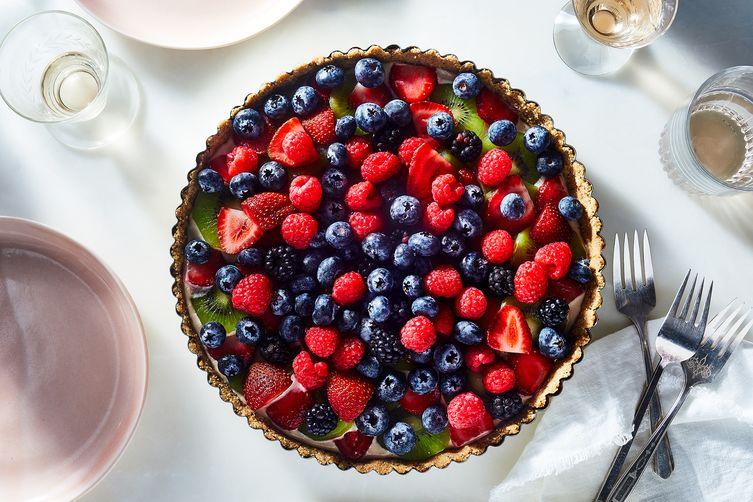 Rawsome Treats' Summer Fruit Tart