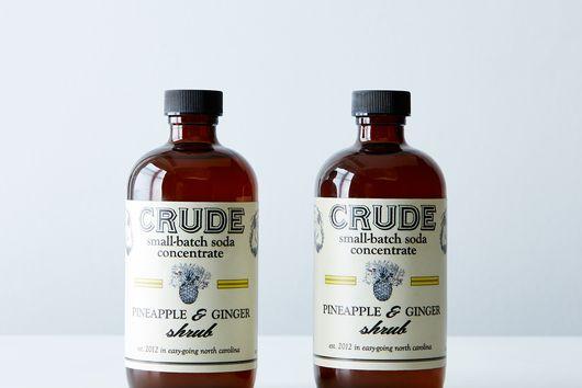 Pineapple & Ginger Shrub (2 Bottles)