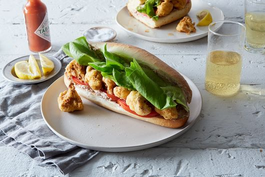 What Happens When Po'Boys Go Vegan (& Completely Untraditional)