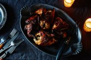Spiced Buttermilk Roast Chicken