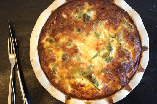 Broccoli Leek Savory Pie