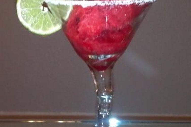 Prickly Pear Margarita Sorbet